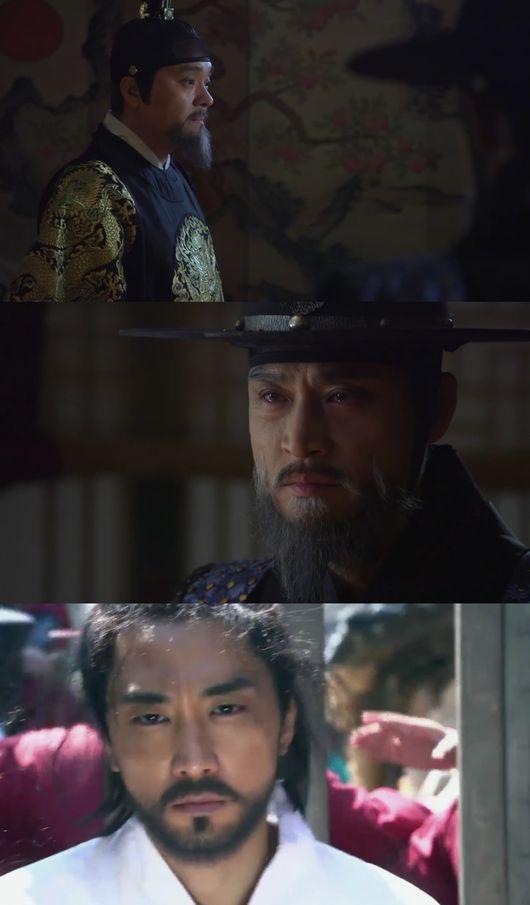 사임당 끝까지 악한 최종환 송승헌, 유배지 가는 길에 죽이라