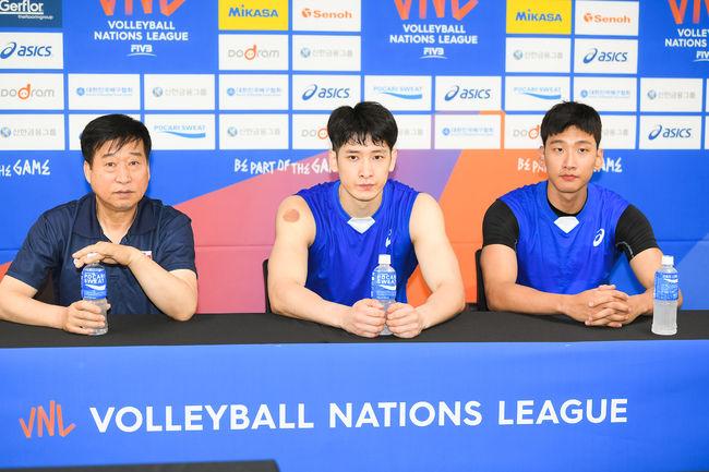 VNL 서울시리즈 15일 시작, 男 배구 첫 승 다짐