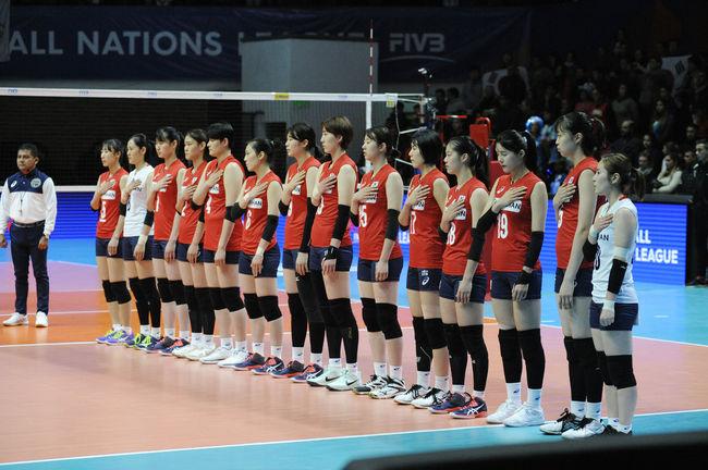 [VNL] 女 배구, 세르비아에 3-0 패배…5승 10패 대회 마감