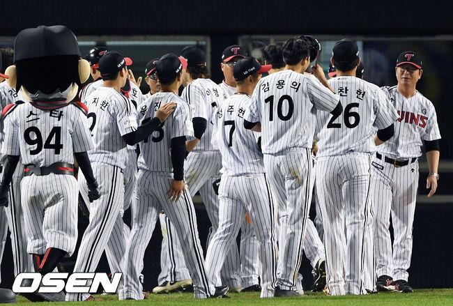 [사진]한 점차 승리 거둔 LG