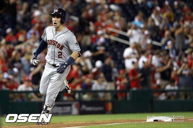 '결승 홈런' 알렉스 브레그먼, MLB 올스타전 MVP 선정