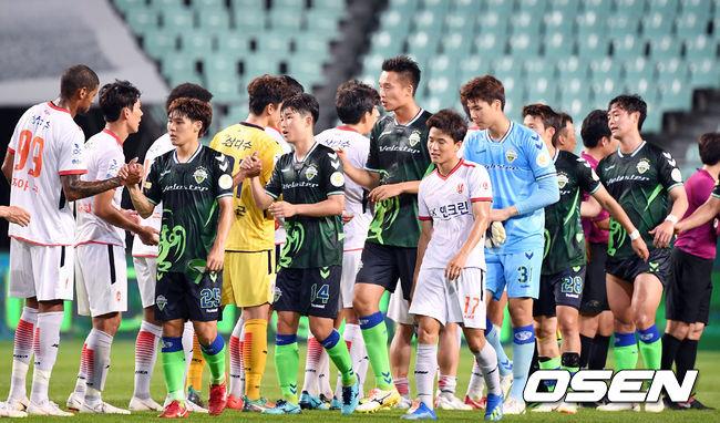 [사진]제주 상대 1:0 승리 거둔 전북