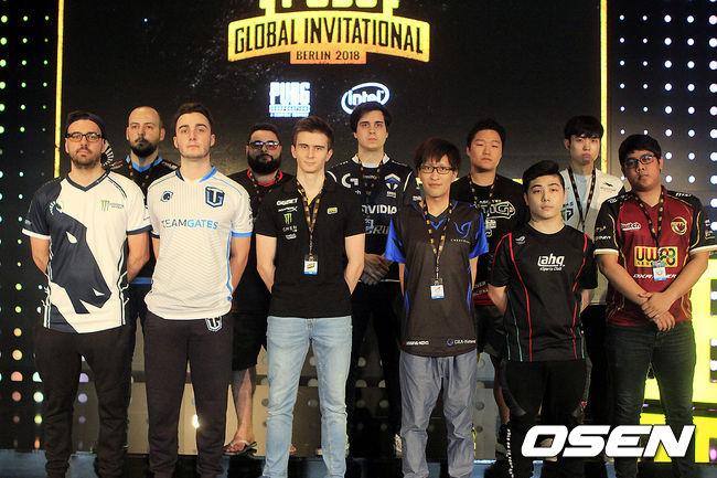 [Oh!쎈 PGI] 펍지 글로벌 인비테이셔널 참가 팀 엿보기