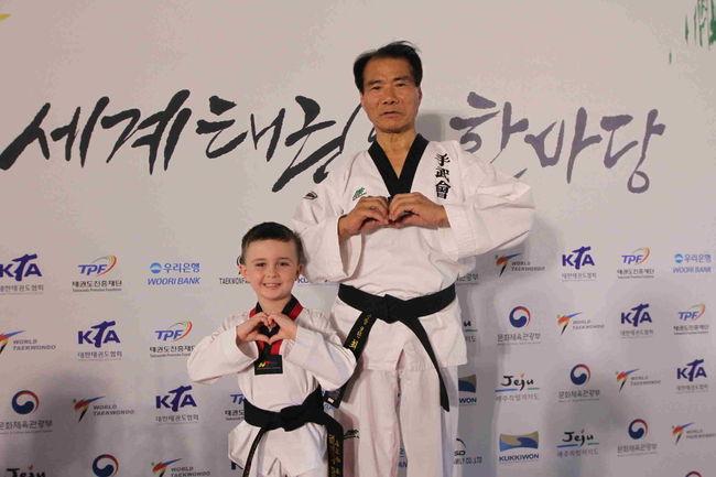 태권도 한마당, 최고령-최연수 韓-美의 만남