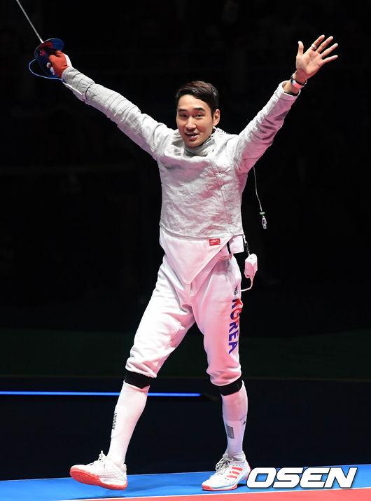세계선수권 2관왕 김정환, 국가대표 선발전 사브르 개인전 우승