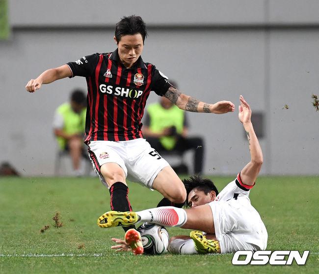 [사진]박동진-진성욱, 양보 없는 FA 16강전