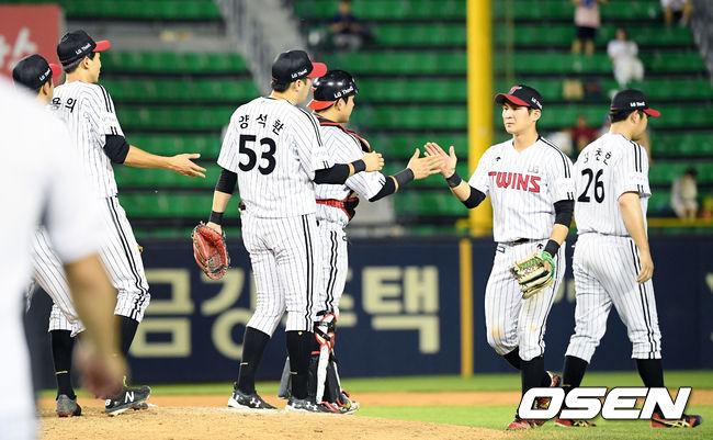 [사진]LG,8연패 탈출 성공