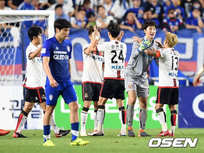 [사진]극적인 승리 FC서울,슈퍼매치 또 이겼다