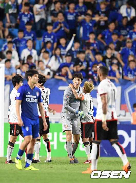 [사진]FC서울, 수원 삼성 상대로 2-1 승리