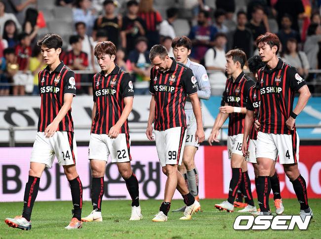 [사진]서울,패배의 아쉬움을 삼키며