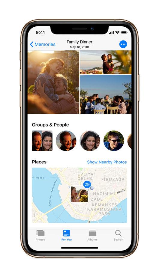 최대 크기 디스플레이, 애플 아이폰XS-아이폰XS 맥스