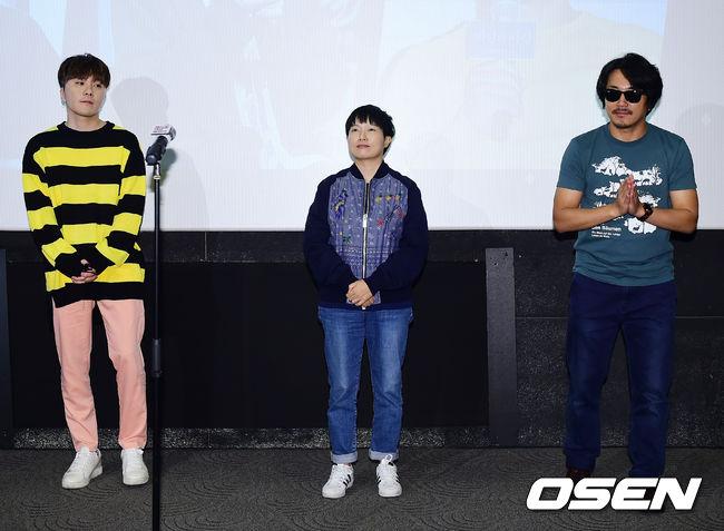 [사진]변성현-김하나-양익준,대단한단편영화제 심사위원들