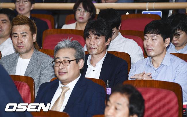 [사진]박항서 감독 강의 참석한 김병지-최진철-송종국