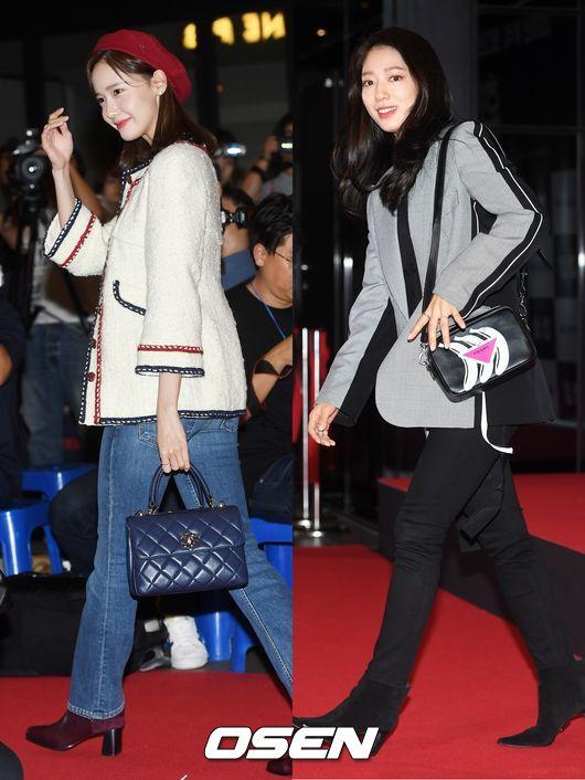 [사진]윤아-박신혜,여신들의 미모 대결