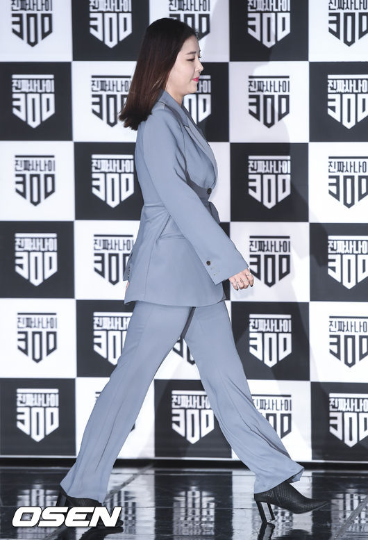 [사진]신지,군복 벗고 시크한 정장 패션