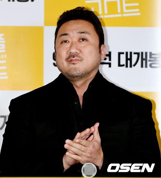 [사진]마동석, 배우의 카리스마