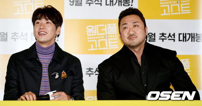 [사진]김영광-마동석, 기자님 어디 계시죠?