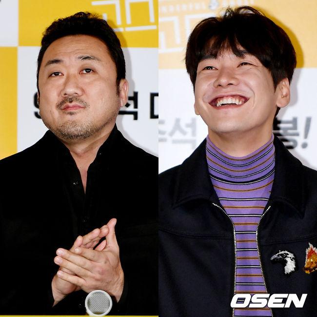 [사진]마동석-김영광, 믿고 보는 두 배우