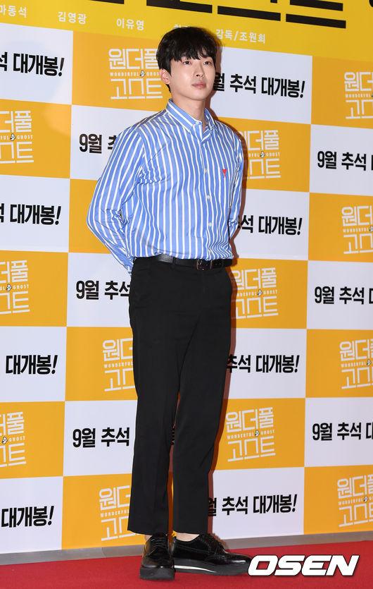 [사진]김강현,영화 보러 왔어요