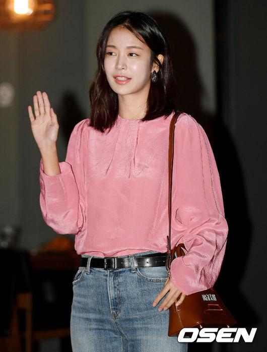 [사진]정유진, 싱그러운 인사