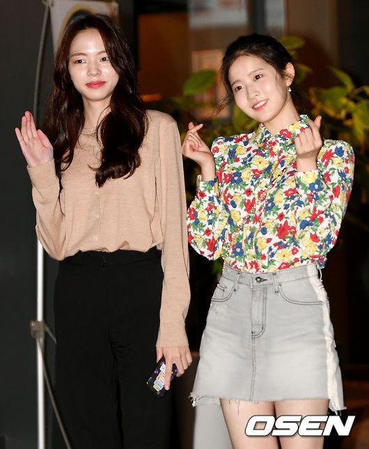 [사진]조유정-박시은, 러블리한 두 소녀