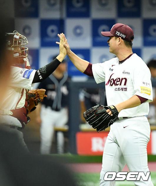 [사진]김상수,승리의 하이파이브