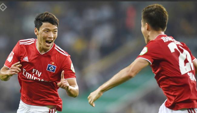 황희찬, 2경기 만에 함부르크 데뷔골...팀 1-0 승리 견인
