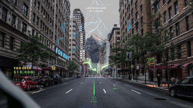 현대차,스위스 홀로그램 전문 업체 웨이레이에 투자...증강현실 내비 개발