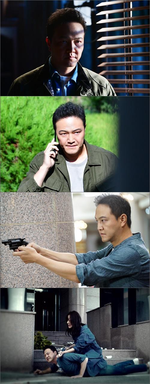 '미스마' 정웅인, 김윤진 쫓는 형사..팽팽한 대립 시너지 폭발
