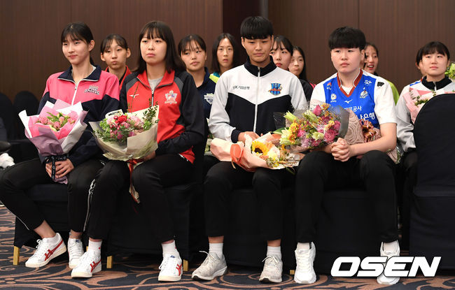 [사진]2018-2019 KOVO 여자 신인선수 드래프트 열려