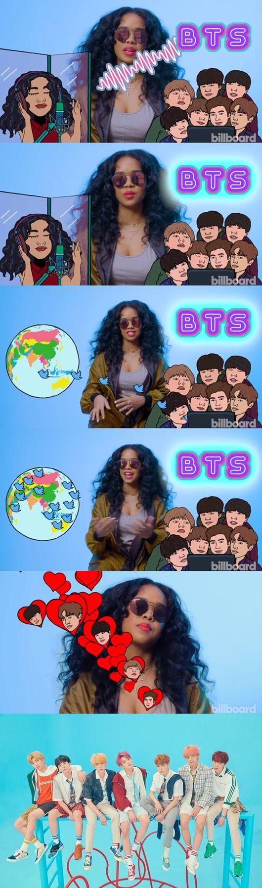 美 여가수 방탄소년단 트윗 덕에 신곡 인기폭발, I love BTS