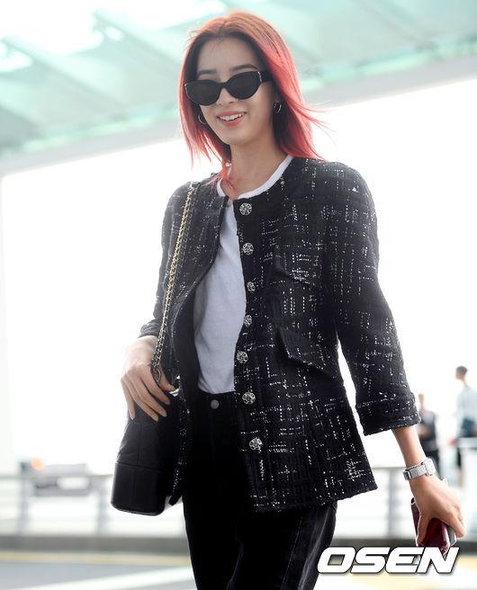 [사진]밀라노 떠난 모델 아이린