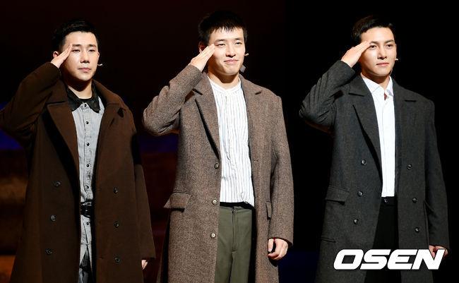 [사진]성규-강하늘-지창욱, 늠름한 대한민국 육군