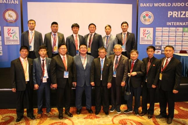 남북, 2018 세계선수권서 유도 단일팀으로 혼성 단체전 출전