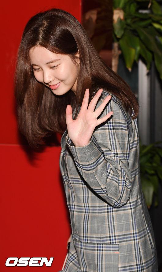 [사진]서현,쑥스러운 미소로 인사