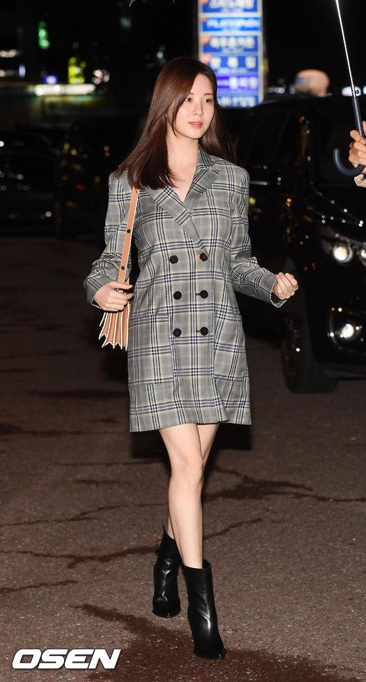 [사진]서현,빗속을 걷는 여신