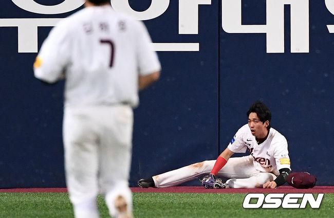 [사진]김규민,공은 글러브 안에 있어요