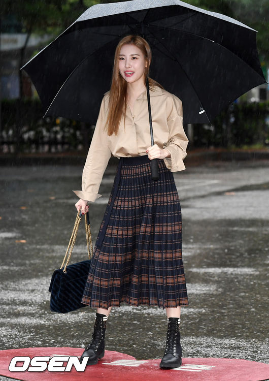 [사진]선미,빗속의 선녀