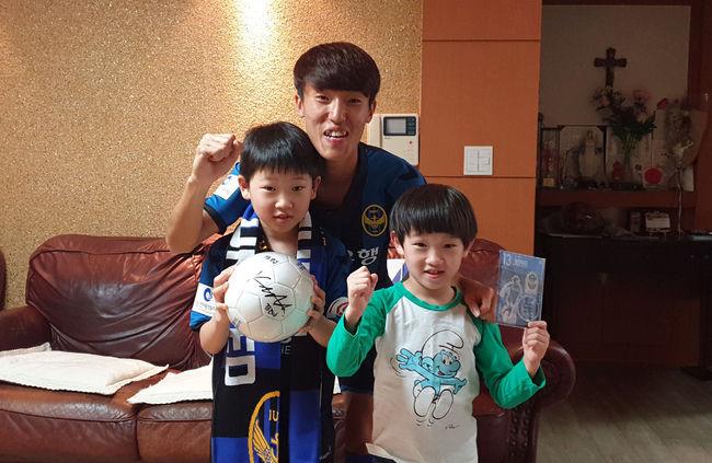 마음씨도 금메달 김진야, 인천 팬들에게 받은 사랑 보답하다