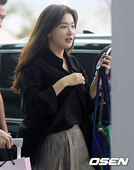 [사진]레드벨벳 슬기,대만 다녀올게요