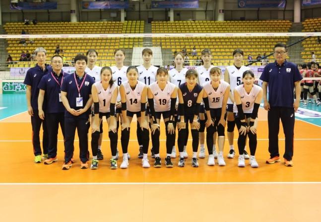 女 배구, AVC컵 필리핀전 승리…5~8위 결정전 진출