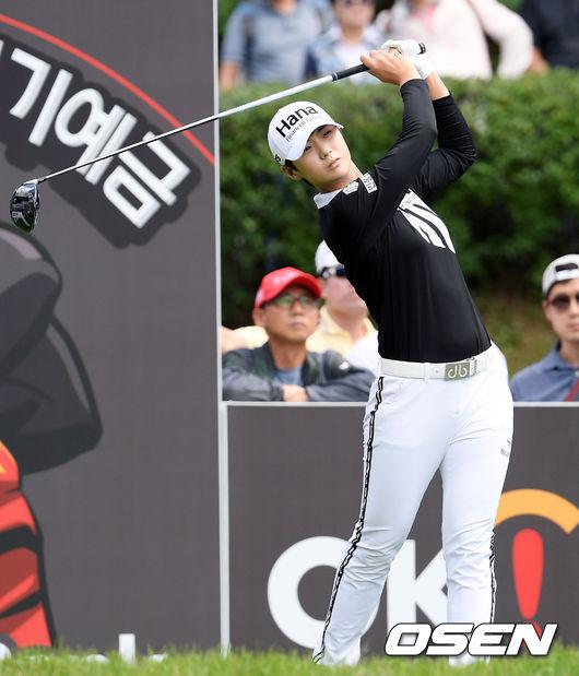 [사진]박성현,파워 넘치는 티샷
