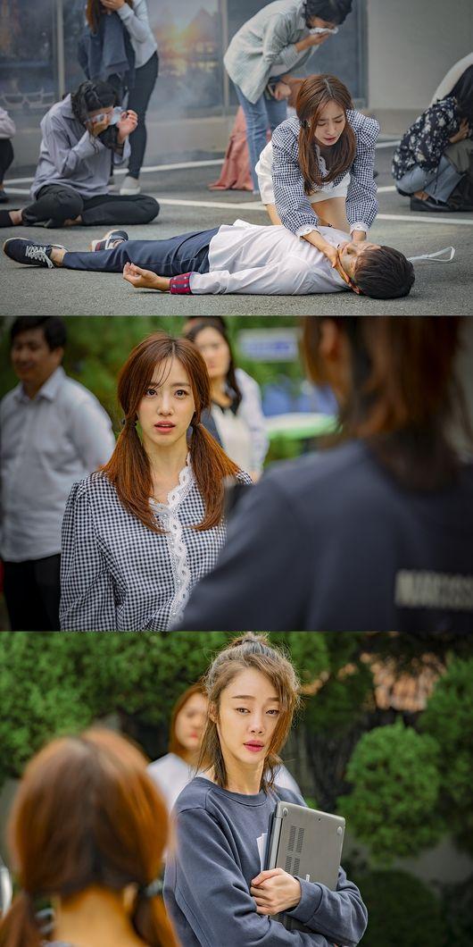 '러블리 호러블리' 함은정vs최여진, 첫눈에 알아본 오싹 대립각 [Oh!쎈 컷]