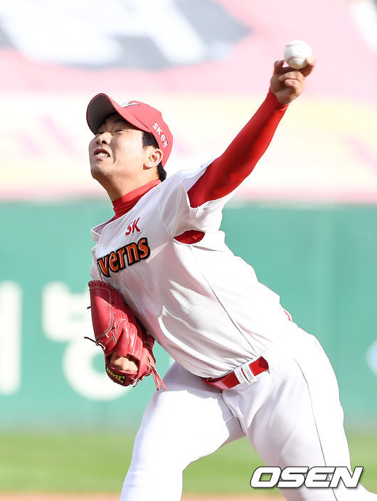 [사진]김택형, 역투