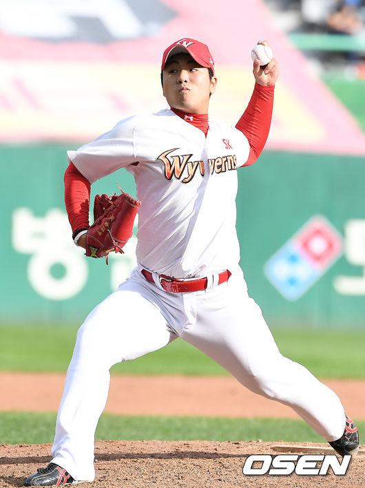 [사진]역투하는 김택형
