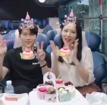 협상 손예진 현빈씨 생일 엄청 엄청 축하합니다[★SHOT!]
