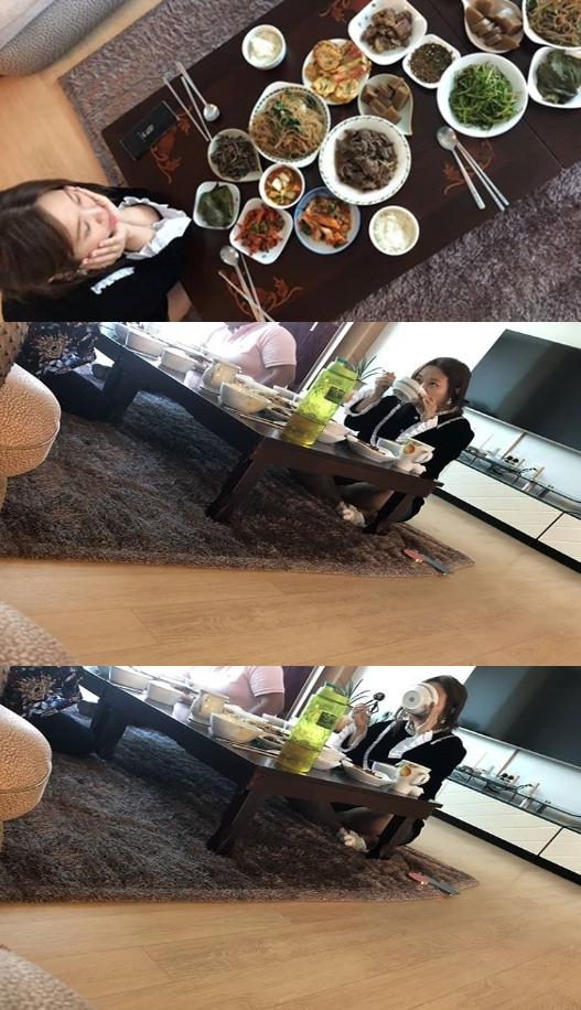♥제이쓴 홍현희, 예비 시댁 방문 폭풍먹방 그릇도 먹을 뻔[★SHOT!]