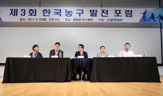 제4회 한국농구발전포럼 8일 개최, 남북교류-외국인제도 토론