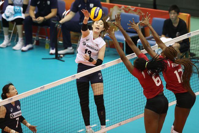 박정아 26점 한국, 세계선수권 마지막 경기 셧아웃 승리