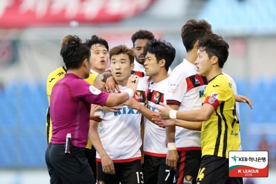 상스 대신 강등 걱정 서울, 전남에 0-1 패...9G 연속 무승